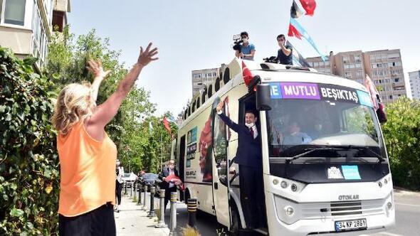 Beşiktaş'ta 19 Mayıs kutlamaları başladı