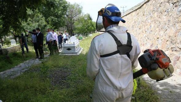 Başkan, Eroğlu: Mezarlıklarımıza önem veriyoruz