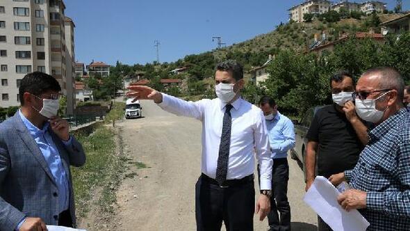 Başkan Eroğlu, mahallelerde incelemede bulundu