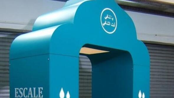 Kocatepe Camisi'ne sterilizasyon kabini