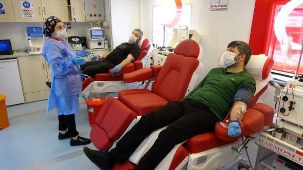 Trabzonda Covid-19u yenen 104 kişi, immün plazma bağışladı