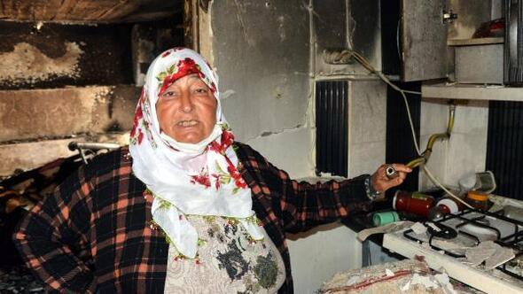 İntihar etmek için doğal gazı açtı, patlamada ev harabeye döndü