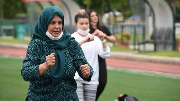 Eskişehirli kadınlar, normalleşmeye sporla başladı
