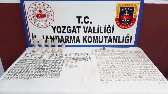 Yozgatta 665 parça tarihi eser ele geçirildi