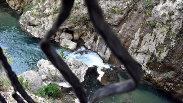 Sivasın saklı cenneti Şuğul Kanyonu ziyaretçilerini bekliyor