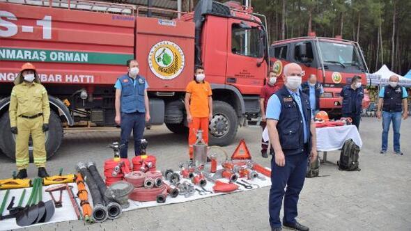 Kahramanmaraş Orman Bölge Müdürlüğü yangın sezonuna hazır