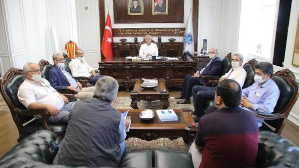 Battalgazi Muhtarlar Derneğinden, Başkan Güdere ziyaret