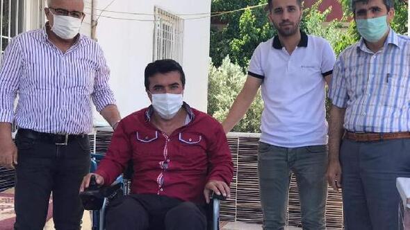 Belediye Başkanı'ndan engelli vatandaşa akülü araç