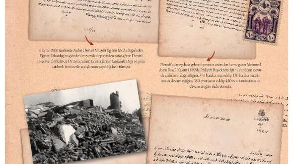 Denizlinin deprem tarihi kültür yayınlarında