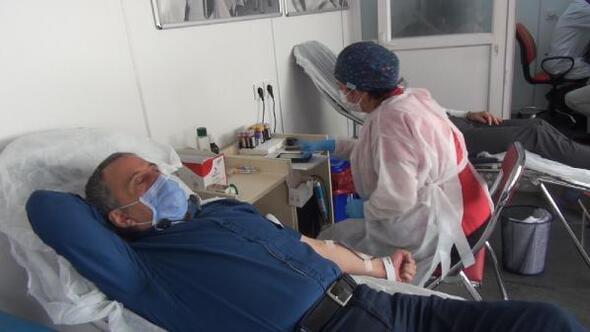 Kırşehirde, 15 günde 900 ünite kan toplandı