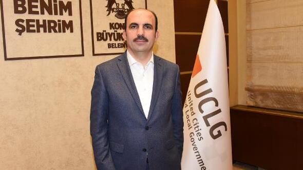 UCLG Eş Başkanı Altay Volkan Bozkır'ı, tebrik etti