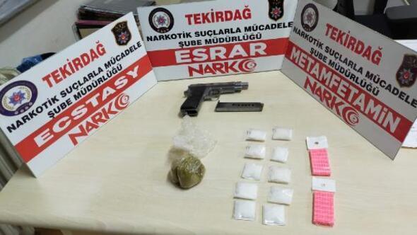 Tekirdağdaki uyuşturucu operasyonlarında 8 gözaltı