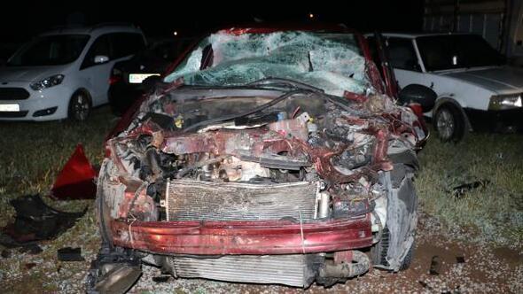 Sandıklıda kaza: 2 yaralı