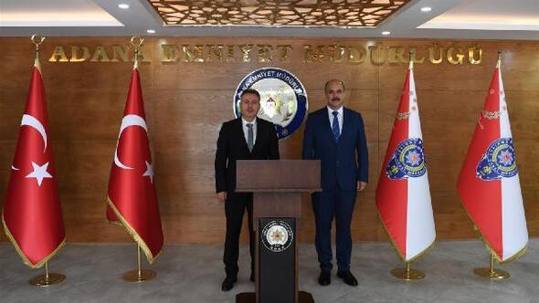 Vali Elban, İl Emniyet Müdürlüğünü ziyaret etti