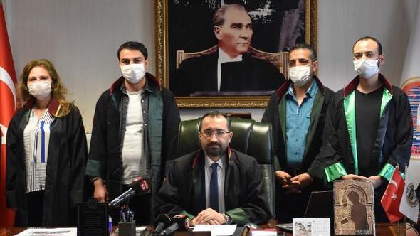 Sivas Barosundan başkanların durdurulması açıklaması
