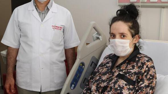 ERÜde hamile kadına başarılı kalp operasyonu