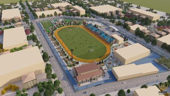 Midyatta çok amaçlı spor kompleksinin inşası başlıyor