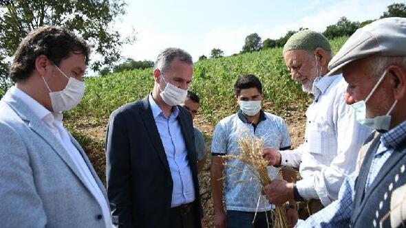 İnegöl Belediyesinde sel mağduru çiftçilere tohum desteği