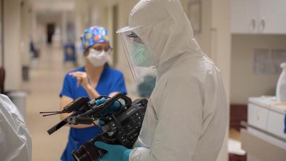Kameraman gözünden koronavirüs süreci
