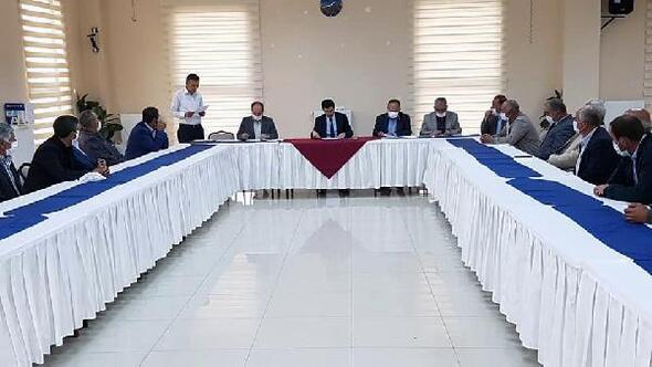 Çamardıda Köylere Hizmet Götürme Birliği toplantısı