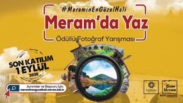 'Meram'da yaz' ödüllü fotoğraf yarışması başladı