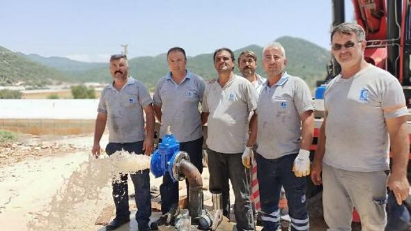 Sahil Kılınçlının su sorunu 400 metrelik sondajla çözüldü