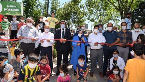 Sancaktepe'de çocuklar için 3 yeni park açıldı