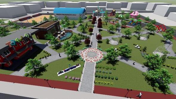 İpekyolu Belediyesinden İpekPark projesi