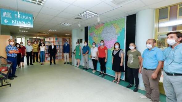 Trakya Üniversitesinde, Balkan Kitaplığı açıldı