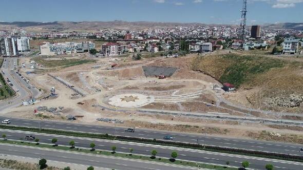 Gültepeye 50 bin metrekarelik park yapılıyor