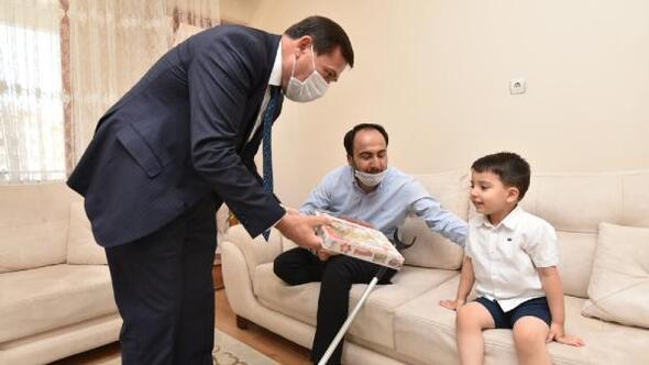 Karatay Belediye Başkanı, 15 Temmuz Gazilerini ziyaret etti