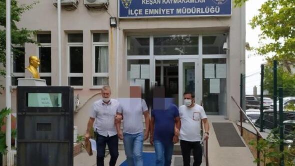 Kesinleşmiş hapis cezaları bulunan 3 kişi tutuklandı