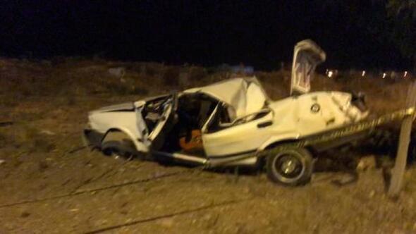İslahiye'de otomobil takla attı: 2 yaralı