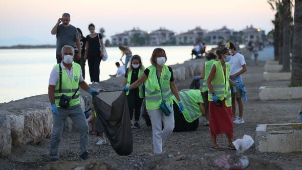 Bostanlı Rotaryden Temiz ve Yaşanabilir Çevre etkinliği