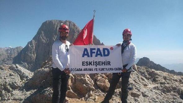 AFAD, dağcılık eğitimini tamamladı
