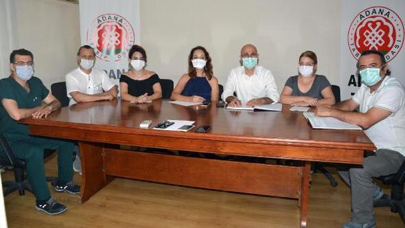 Adana Tabip Odası yeni yönetimi görev dağılımı yaptı