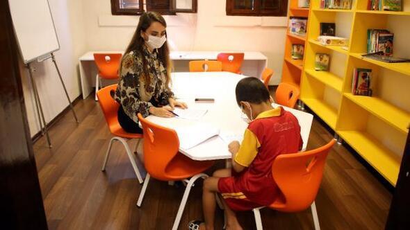 Akdenizde ilkokula başlayacak çocuklara okul olgunluğu testi