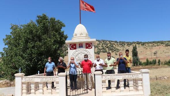 Ömerlide Şehitler anıtı çeşmesi açıldı
