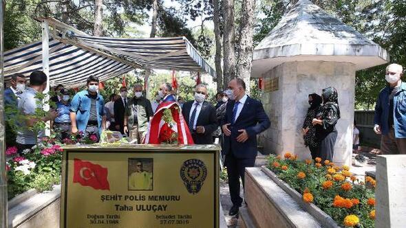 Şehit polis memuru Uluçay, ölüm yıl dönümünde anıldı