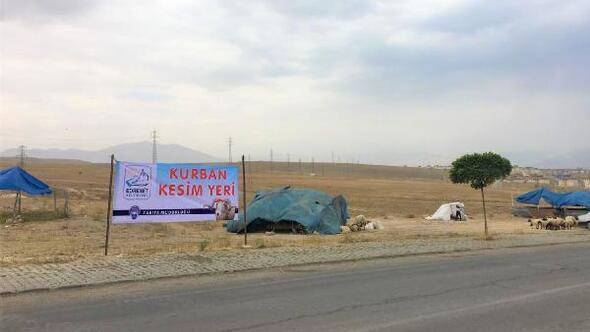 Edremit'te kurban satış ve kesim yerleri belirlendi