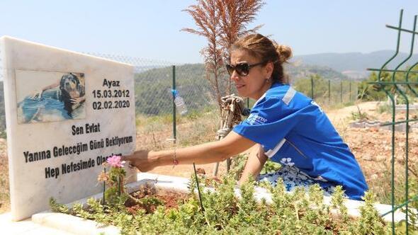 Hayvan Hakları Federasyonundan Mezitli hayvan mezarlığına ziyaret