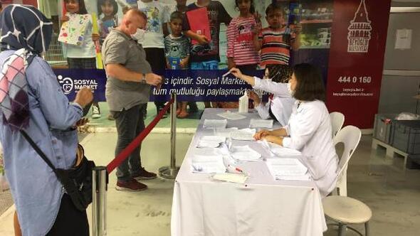 Beyoğlunda 4 bin 200 çocuğa ücretsiz bayram giysisi