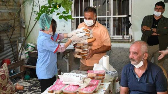 Büyükşehir-BM iş birliğiyle ihtiyaç sahiplerine 3 kap sıcak yemek