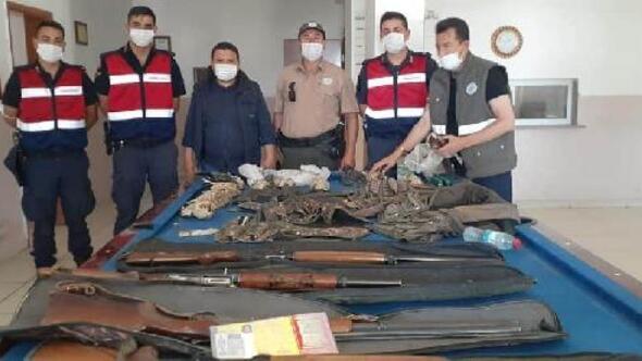 Niğdede kaçak avlanan 4 kişiye 29 bin 363 TL ceza