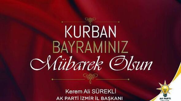 AK Parti İl Başkanı Sürekliden bayram mesajı