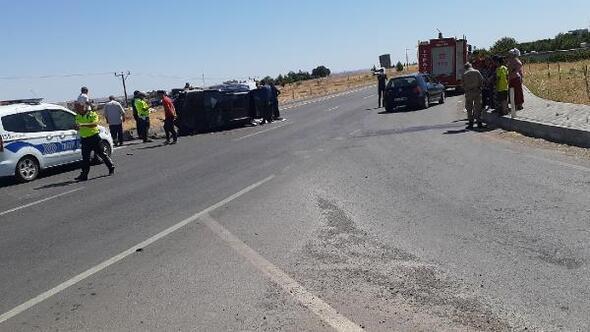 Kahtada kaza: 2 yaralı