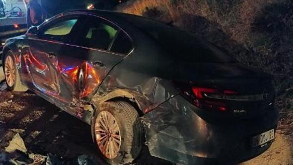 Keşanda zincirleme trafik kazası: 2 yaralı