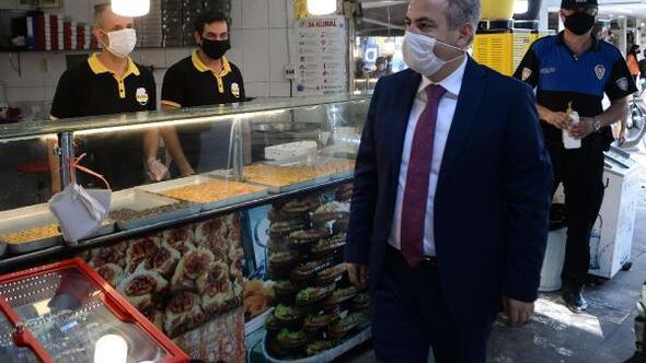 Adana Valisi Süleyman Elbandan maske ve sosyal mesafe uyarısı