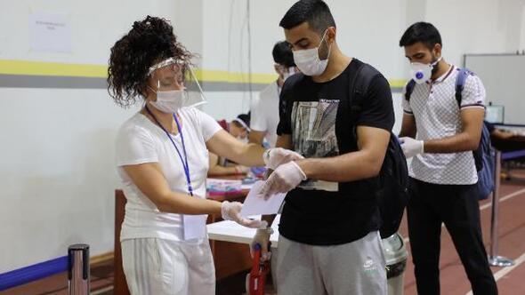 ESTÜ Spor Bilimleri Fakültesi'nde sınav heyecanı başladı
