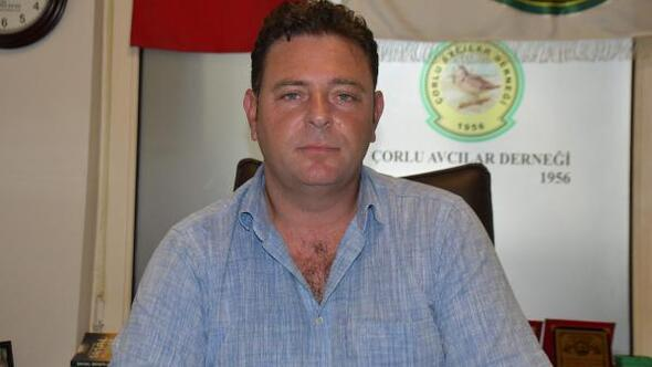 Çorlu Avcılar Derneği Başkanı: Av sezonu öncesi uyarı kurallara uyalım